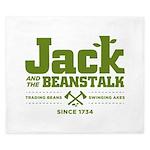 Jack & the Beanstalk Since 1734 King Duvet