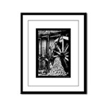Sawmill Right? Framed Panel Print