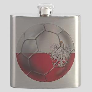 Poland Football Flask