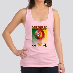 Portugal Football Soccer Racerback Tank Top