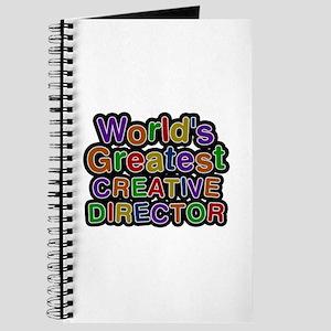 World's Greatest CREATIVE DIRECTOR Journal