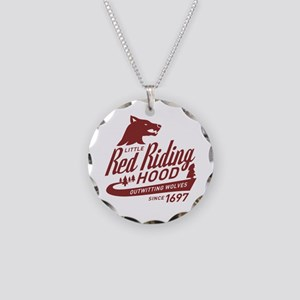 Little Red Riding Hood Since 1697 Necklace Circle