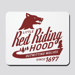 Little Red Riding Hood Since 1697 Mousepad