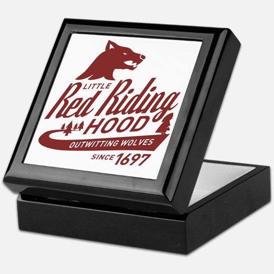 Little Red Riding Hood Since 1697 Keepsake Box