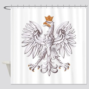 White Eagle of Poland Shower Curtain