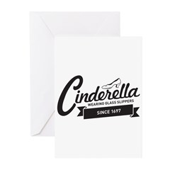 Cinderella Since 1697 Greeting Cards (Pk of 10)