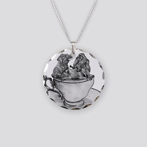 Teacup Elephants Necklace