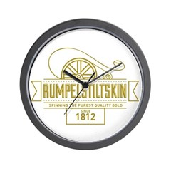 Rumpelstiltskin Since 1812 Wall Clock