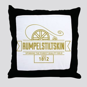 Rumpelstiltskin Since 1812 Throw Pillow