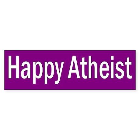 ATHEIST... Bumper Sticker