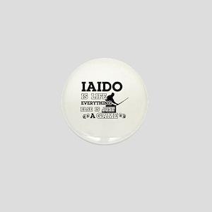 Iaido is life Mini Button