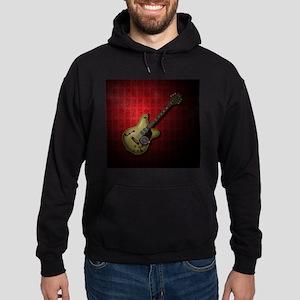 KuuMa Guitar 10 (R) Hoodie (dark)