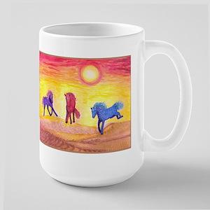 Curly Stallions of the Southwest Mug