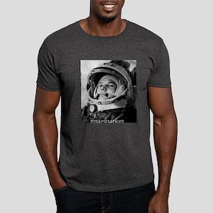Gagarin First Man in Space Dark T-Shirt
