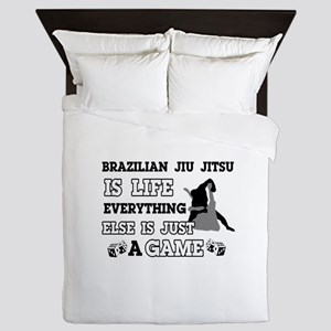 Brazilian Jiu Jitsu is life Queen Duvet