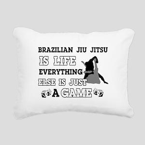 Brazilian Jiu Jitsu is life Rectangular Canvas Pil