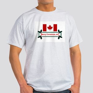 Canadian Christmas, eh? Light T-Shirt