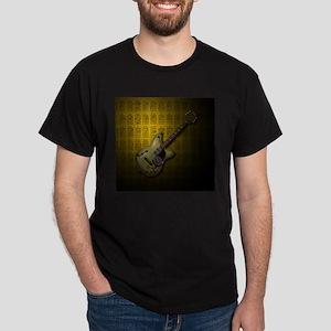 KuuMa Guitar 10 (Y) Dark T-Shirt