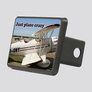 Just plane crazy: Waco aircraft Hitch Cover