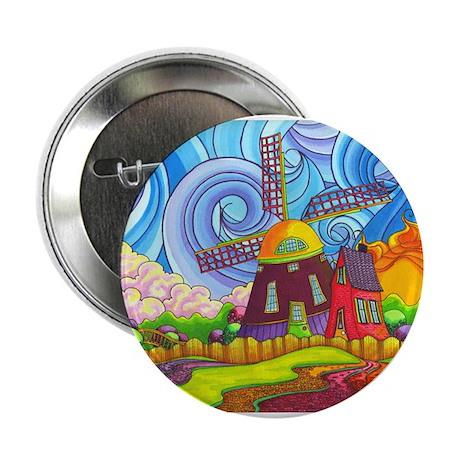 "De Kinderdijk 2.25"" Button"