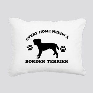 Every home needs a Border Terrier Rectangular Canv