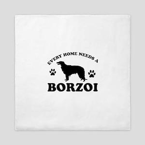 Every home needs a Borzoi Queen Duvet