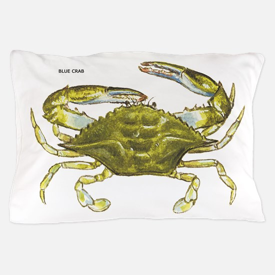 Blue Crab Pillow Case