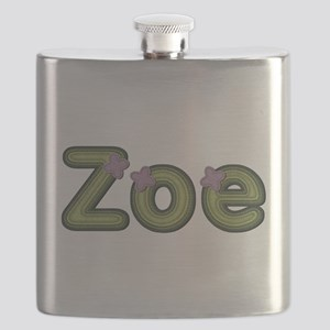 Zoe Spring Green Flask