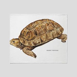 Desert Tortoise Throw Blanket
