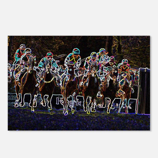 Steeplechase Postcards (Package of 8)
