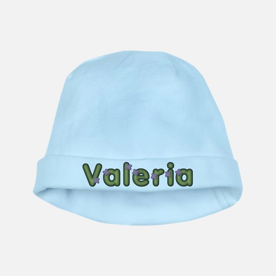 Valeria Spring Green baby hat