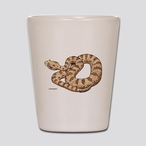 Sidewinder Snake Shot Glass