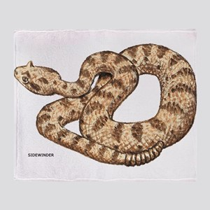 Sidewinder Snake Throw Blanket