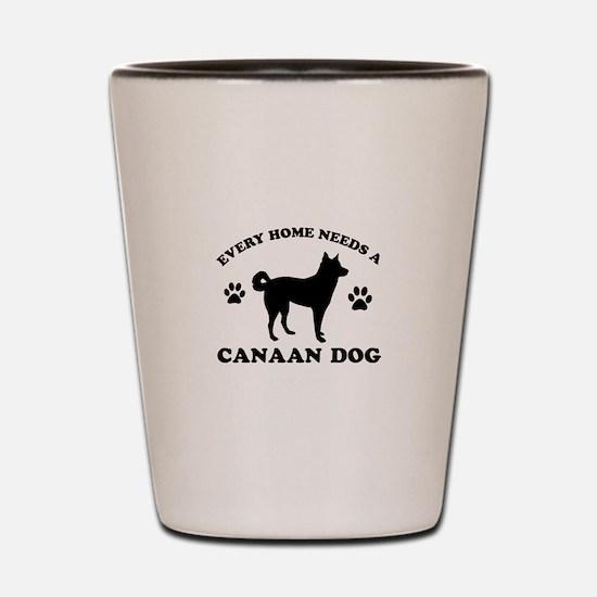 Every home needs a Canaan Dog Shot Glass