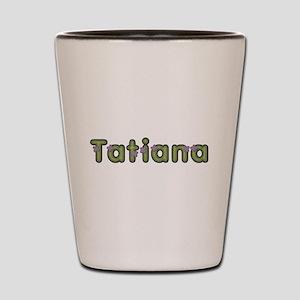 Tatiana Spring Green Shot Glass