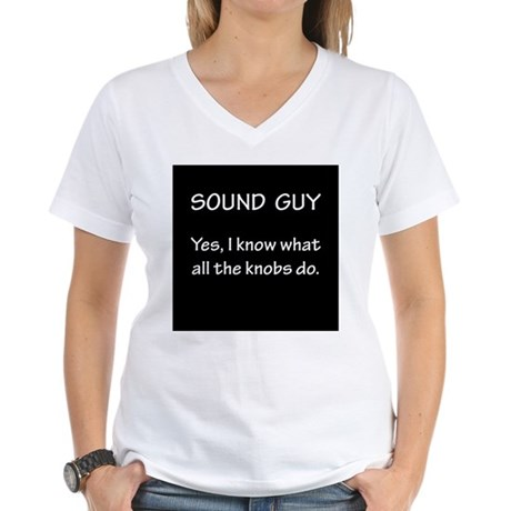Sound Guy Knows T-Shirt