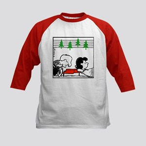 Christmas Tree Melody Kids Baseball Jersey