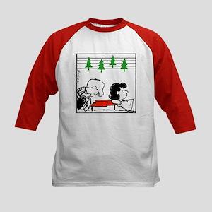 Christmas Tree Melody Kids Baseball Jersey