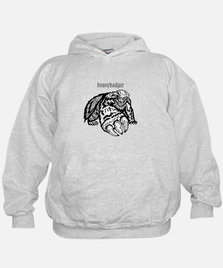 honeybadger claw Hoodie