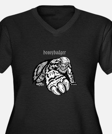 honeybadger claw Plus Size T-Shirt