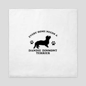 Every home needs a Dandie Dinmont Terrier Queen Du