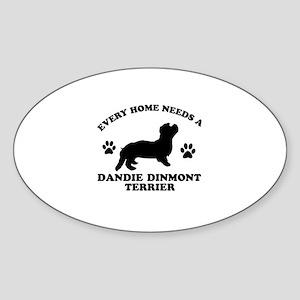 Every home needs a Dandie Dinmont Terrier Sticker