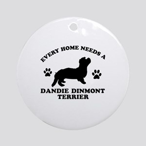 Every home needs a Dandie Dinmont Terrier Ornament