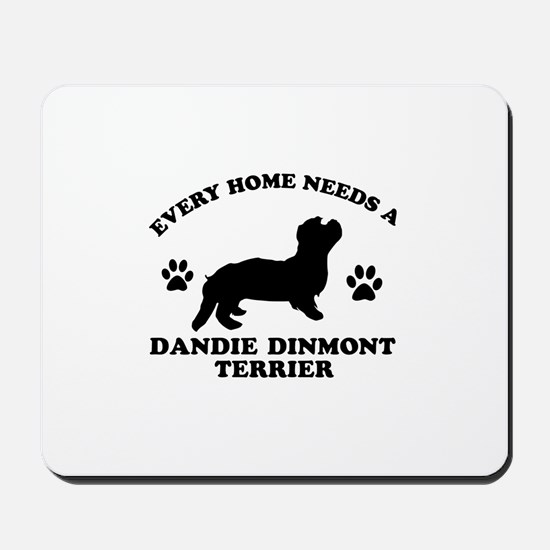 Every home needs a Dandie Dinmont Terrier Mousepad