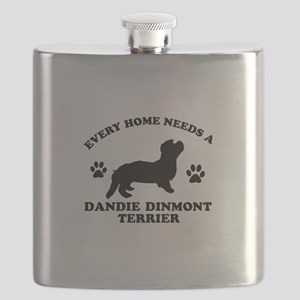 Every home needs a Dandie Dinmont Terrier Flask