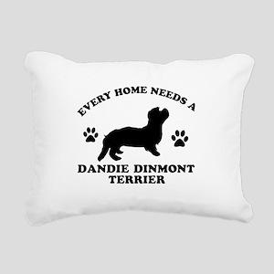 Every home needs a Dandie Dinmont Terrier Rectangu