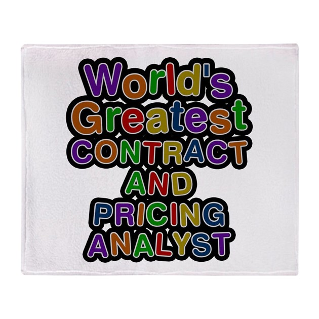 Pricing Analyst: World's Greatest CONTRACT AND PRICING ANALYST Thro By