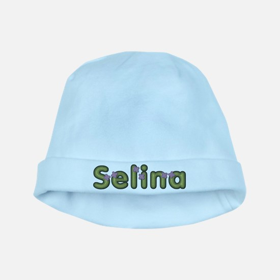 Selina Spring Green baby hat