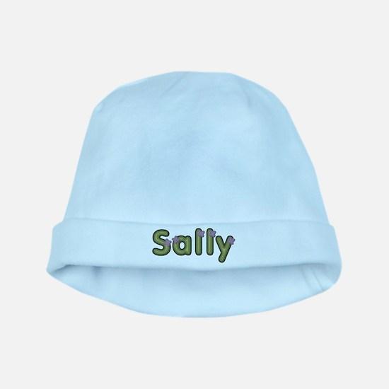 Sally Spring Green baby hat