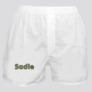 Sadie Spring Green Boxer Shorts